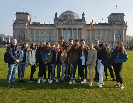 Berlin trip with students from Kazakhstan