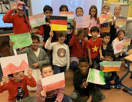 UN Day in Grade 2