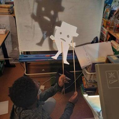 grade3 shadow puppets