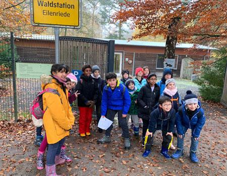 Grade 4 field trip to Waldstation