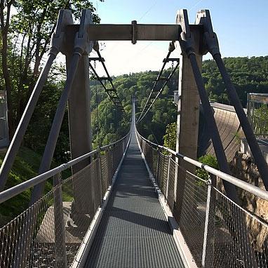 Harz Suspension Bridge