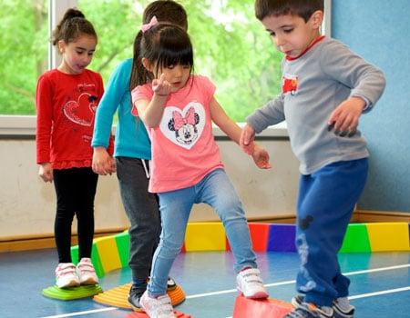 PE in Kindergarten