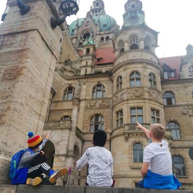 Field trip to Hannover Rathaus