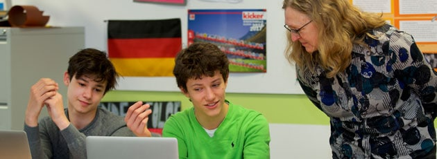 German class in Secondary