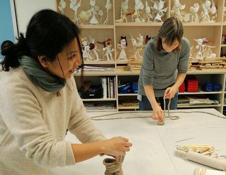 staff clay workshop